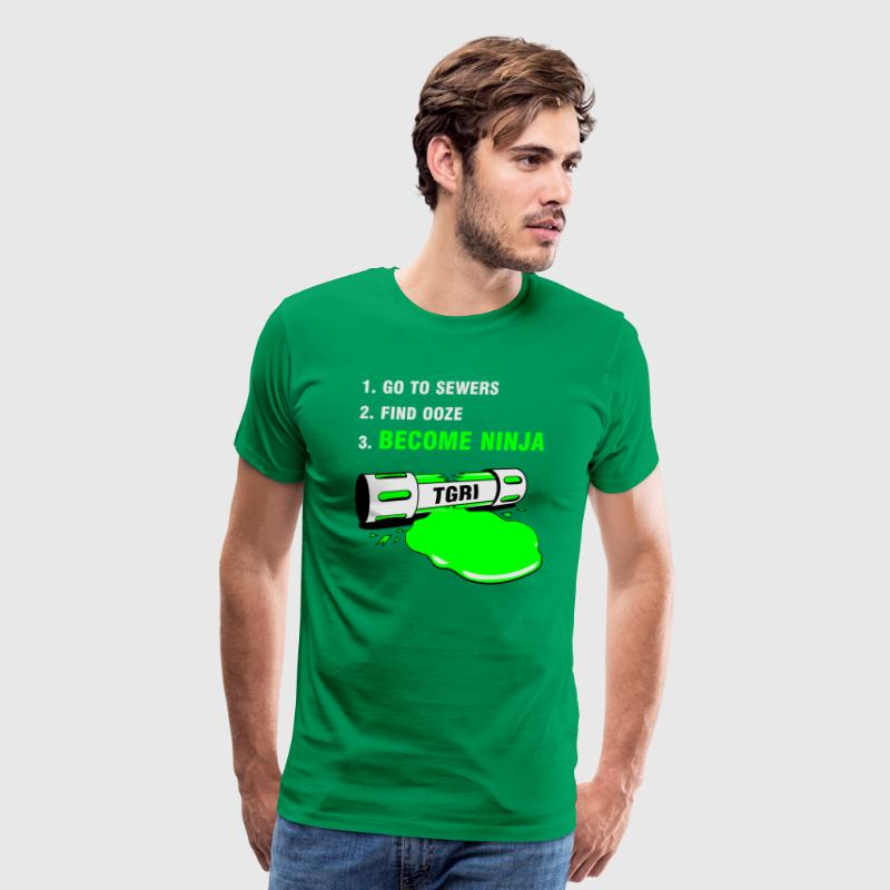 How to be a Ninja Turtle - Men's Premium T-Shirt