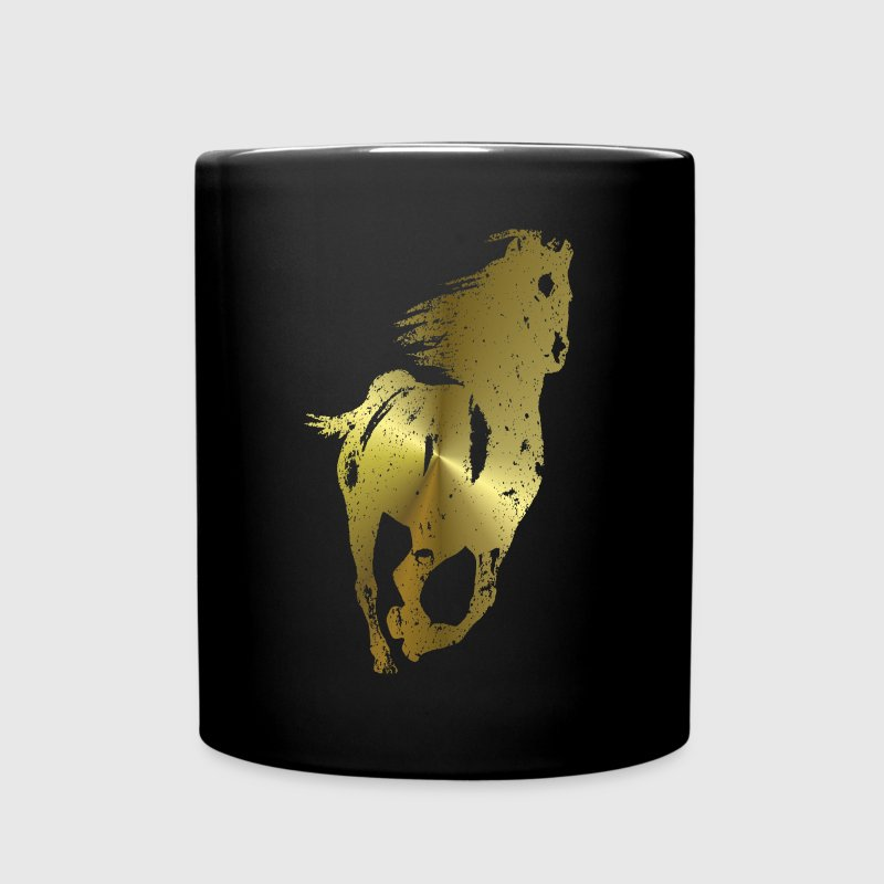 Golden Horse - Full Color Mug