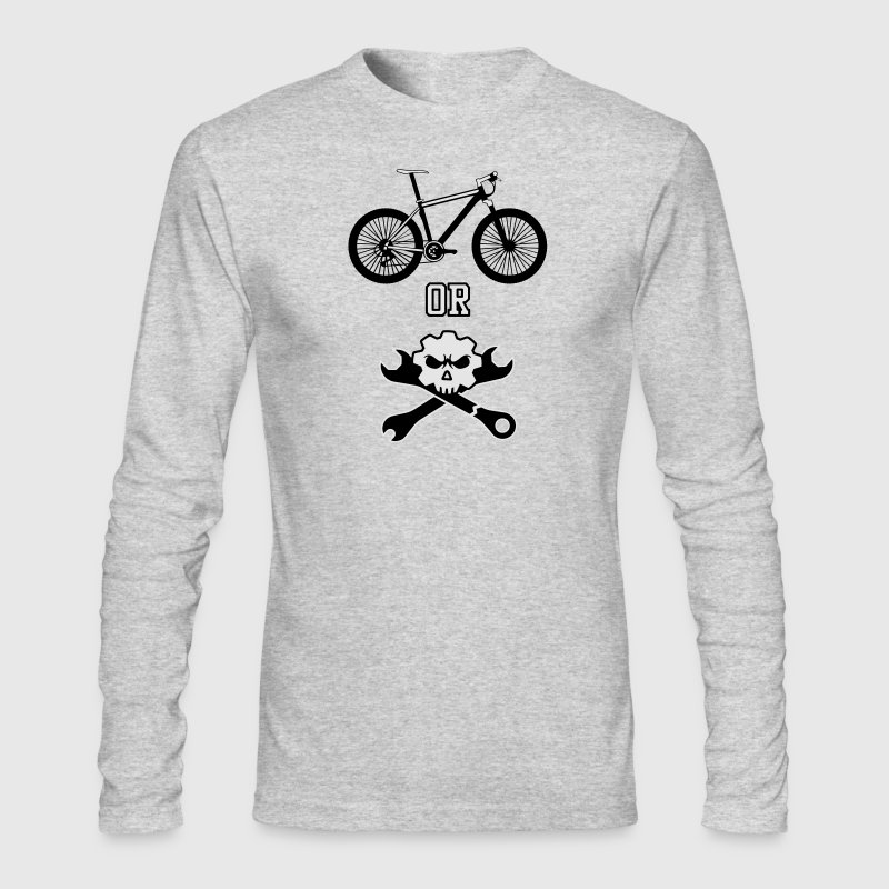 Ride or die - mechanic Long Sleeve Shirts - Men's Long Sleeve T-Shirt by Next Level