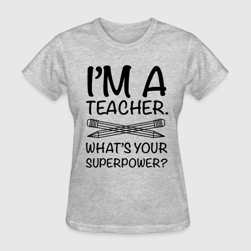 i am a teacher  - Women's T-Shirt