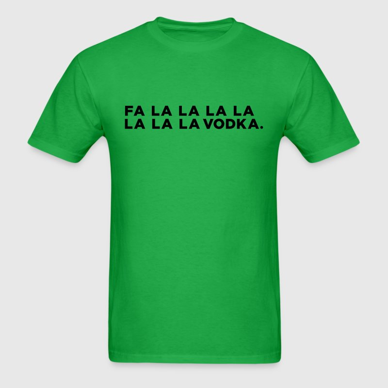 Vodka Christmas Song - Men's T-Shirt