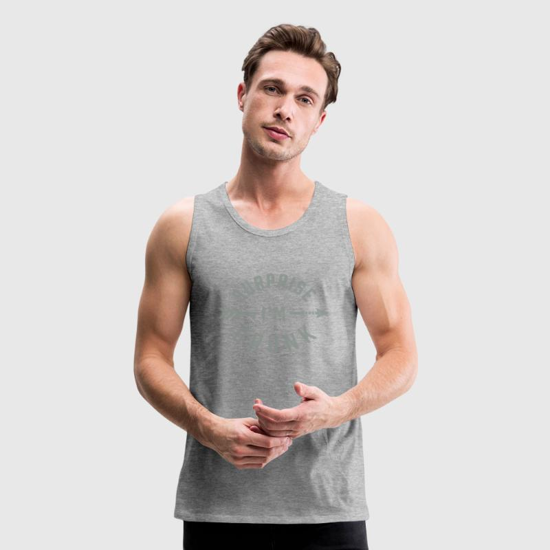 SURPRISE I'M DRUNK Tank Tops - Men's Premium Tank