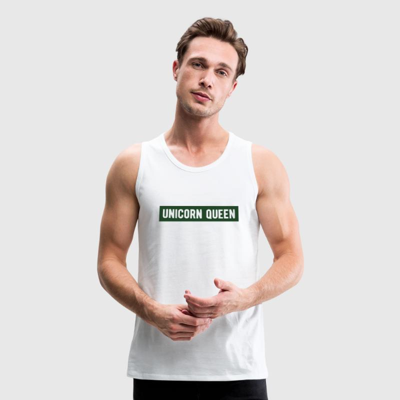 UNICORN QUEEN Tank Tops - Men's Premium Tank
