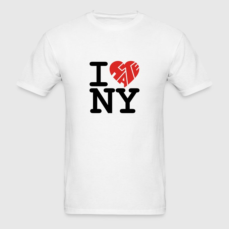 I Hate NY T-SHIRT - Men's T-Shirt