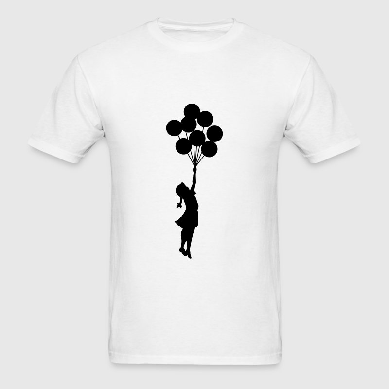 Banksy Balloon Girl T-SHIRT - Men's T-Shirt