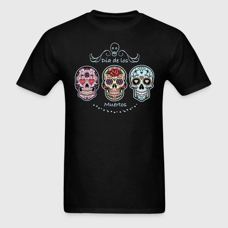 Sugar Skulls - Men's T-Shirt