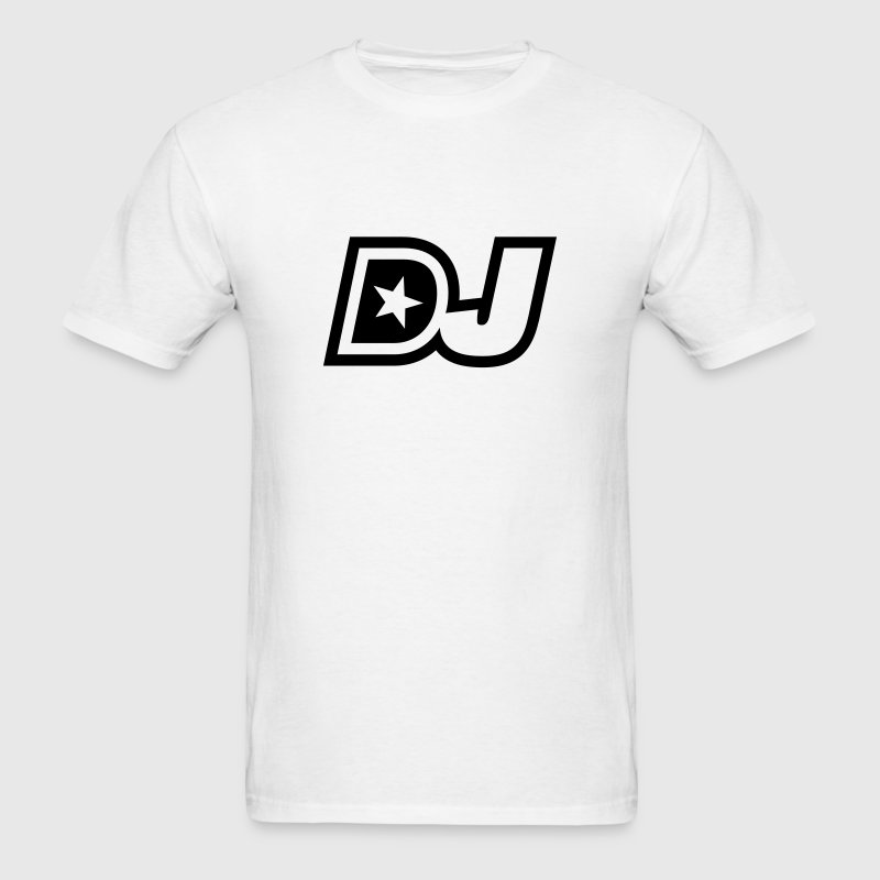 Original star dj logo t shirt spreadshirt Dj t shirt design