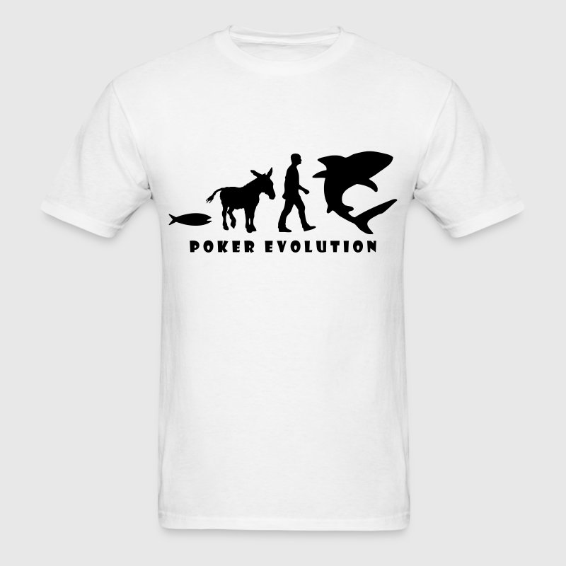 po01 poker evolution T-SHIRT - Men's T-Shirt