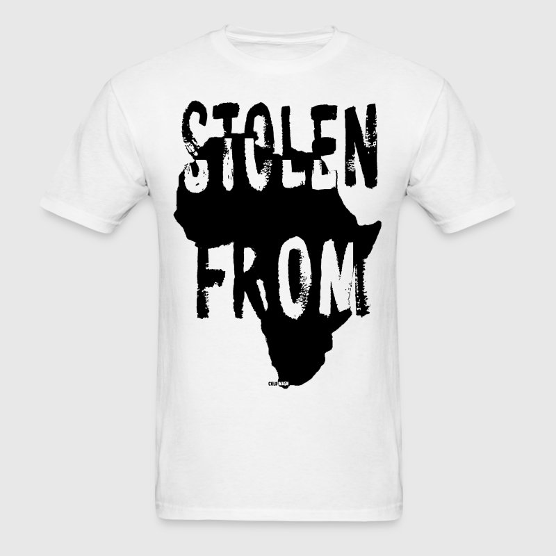 STOLEN FROM AFRICA - Men's T-Shirt