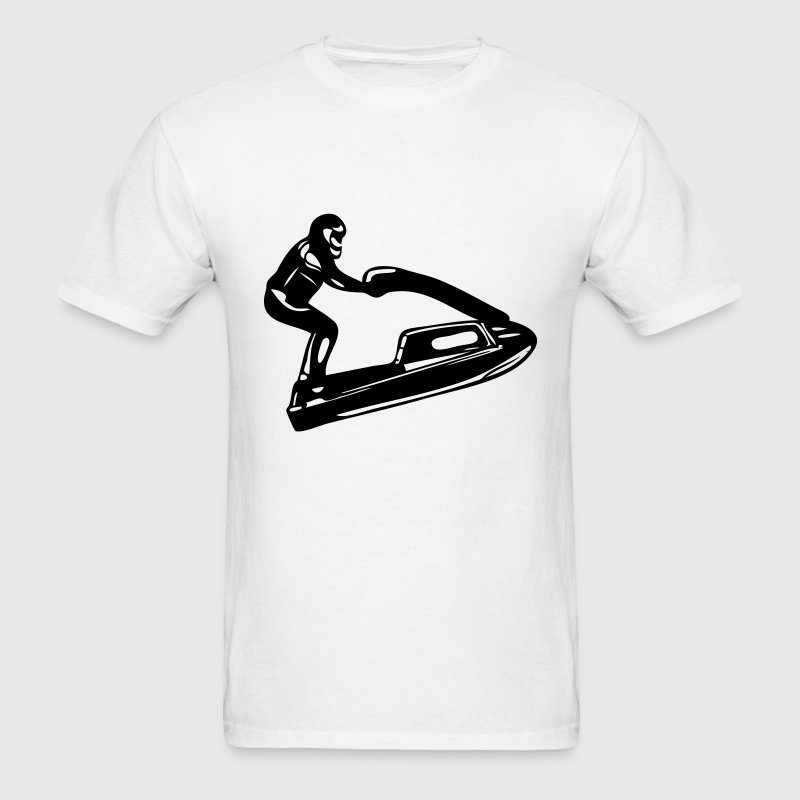 jetski jet ski guy T-SHIRT - Men's T-Shirt