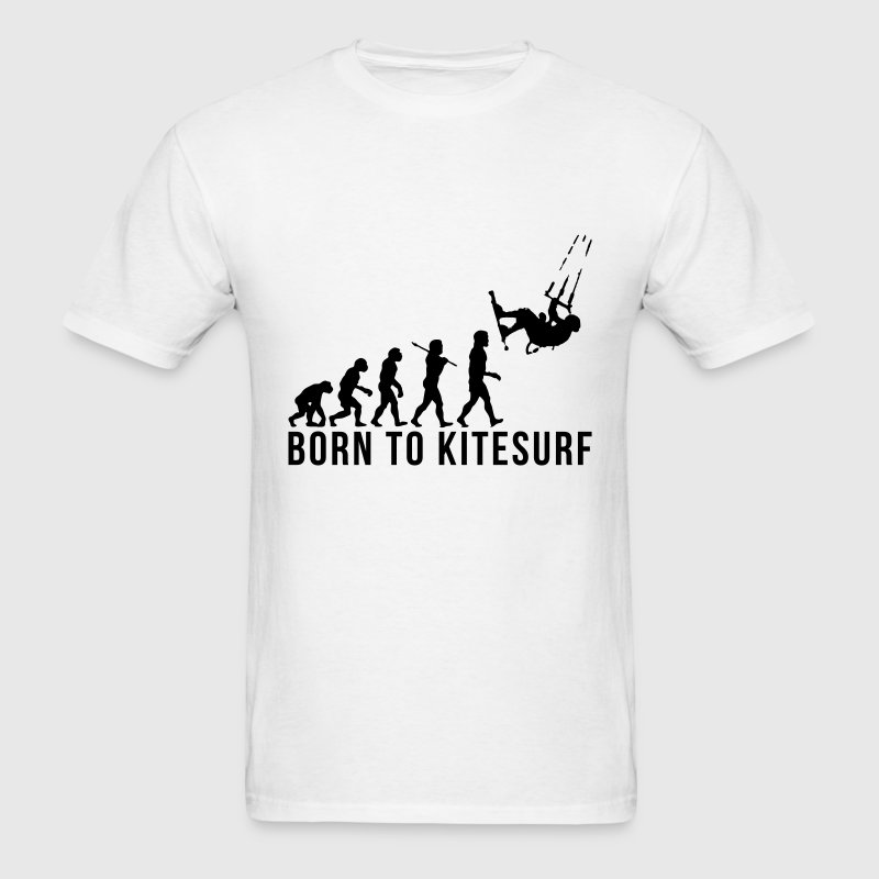 kitesurfing evolution born to kitesurf T-SHIRT - Men's T-Shirt