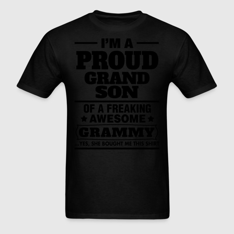 Proud Grandson.... T-Shirts - Men's T-Shirt
