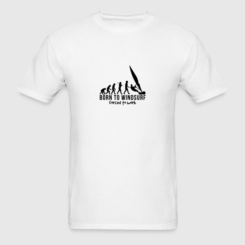 windsurfing evolution born to windsurf f T-SHIRT - Men's T-Shirt