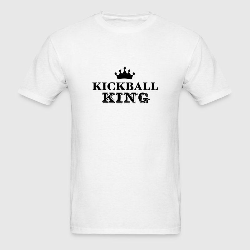 kickball king T-SHIRT - Men's T-Shirt