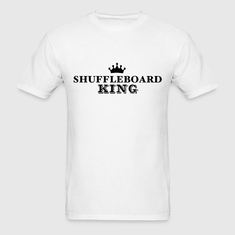 shuffleboard king T-SHIRT - Men's T-Shirt