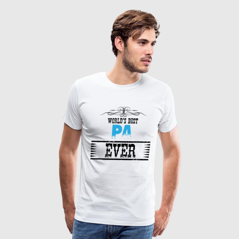 World's Best Pa Ever T-Shirts - Men's Premium T-Shirt