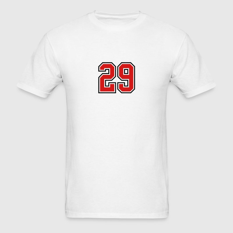 29 sports jersey football number T-SHIRT - Men's T-Shirt