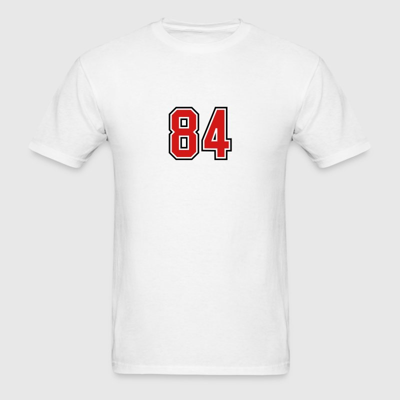 84 sports jersey football number T-SHIRT - Men's T-Shirt