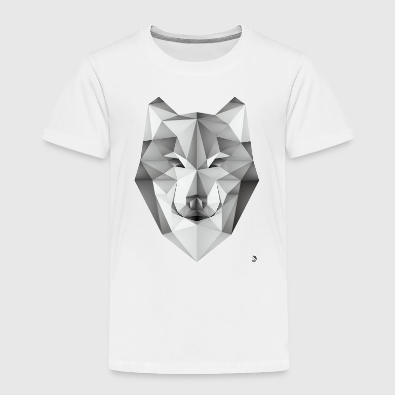 AD Geometric Wolf Baby & Toddler Shirts - Toddler Premium T-Shirt