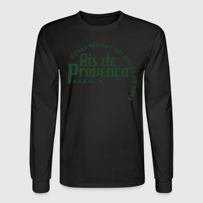 Aix-en-Provence Long-Sleeve T-Shirt - Men's Long Sleeve T-Shirt