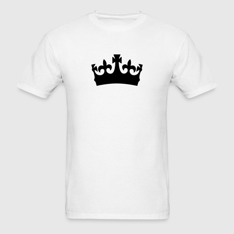 king queen crown t-shirt - Men's T-Shirt