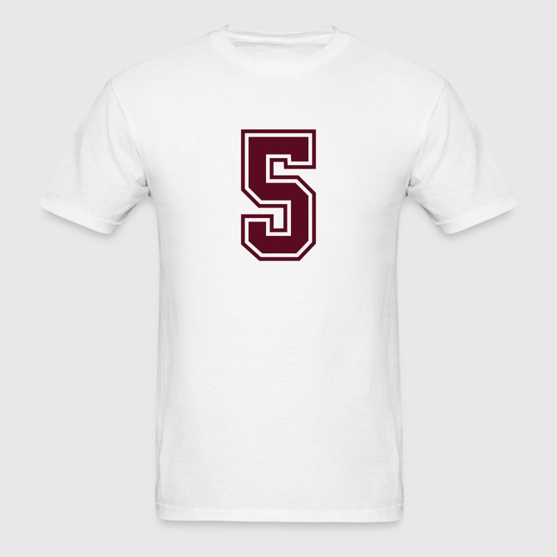 sports jersey number 5  mono t-shirt - Men's T-Shirt