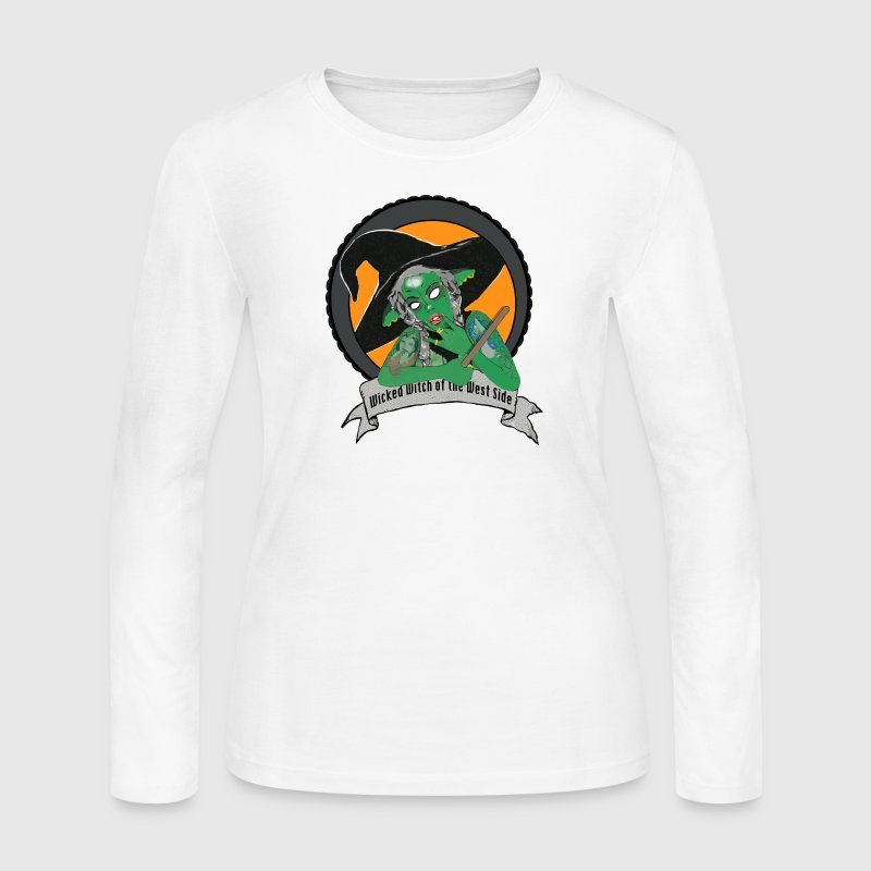 Wicked Witch Of The WS Long Sleeve Shirts - Women's Long Sleeve Jersey T-Shirt