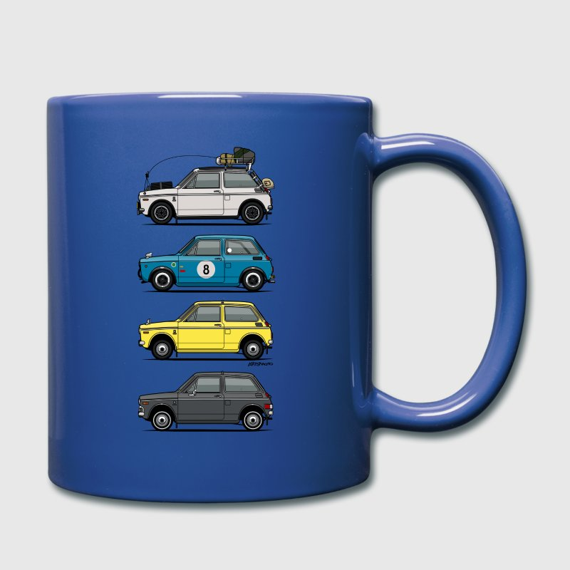 Stack of  Vintage Honda N360 N600 Kei Cars Mugs & Drinkware - Full Color Mug