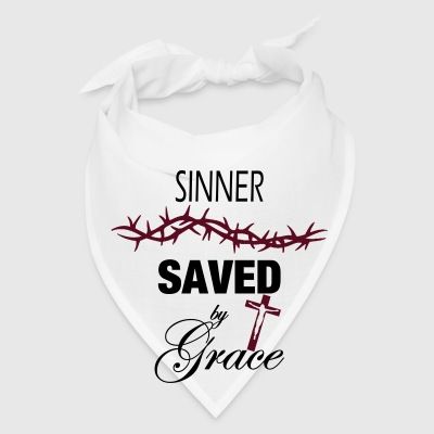 Sinner Saved by Grace Mugs & Drinkware - Bandana