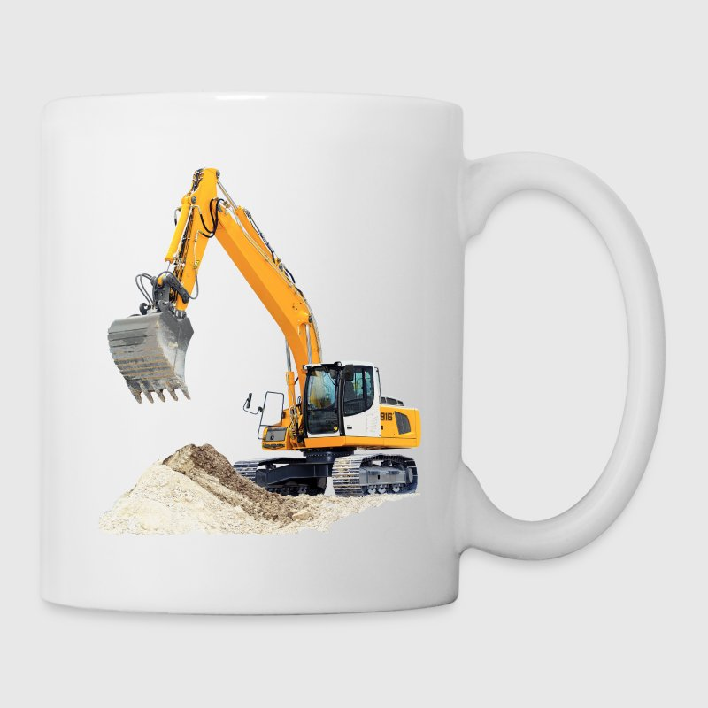 Excavator Mugs & Drinkware - Coffee/Tea Mug