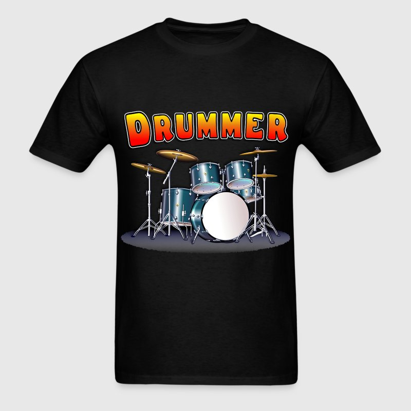 Drummer's Drum Set - Men's T-Shirt