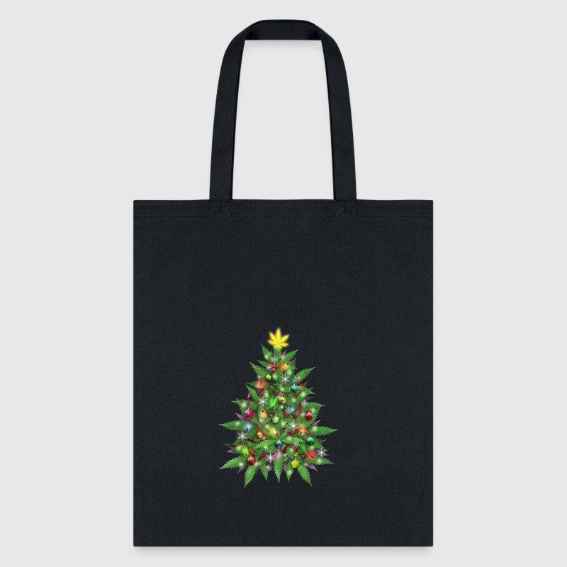 marijuana christmas tree bags backpacks tote bag - Christmas Tree Bag