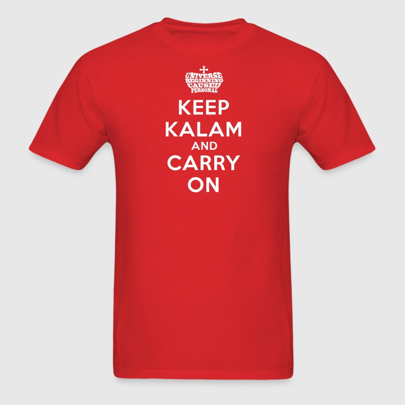 Keep Kalam And Carry On Men's Apologetics T-Shirt - Men's T-Shirt
