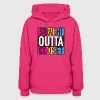 Straight Outta Closet Pansexual LGBT Pride Grunge Hoodies - Women's Hoodie