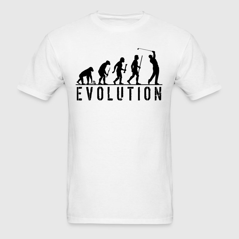 Golf Evolution T Shirt - Men's T-Shirt