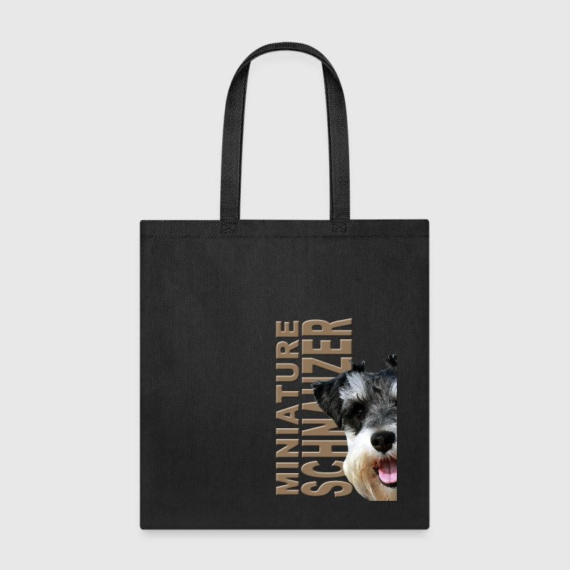 Miniature Schnauzer Bags & backpacks - Tote Bag