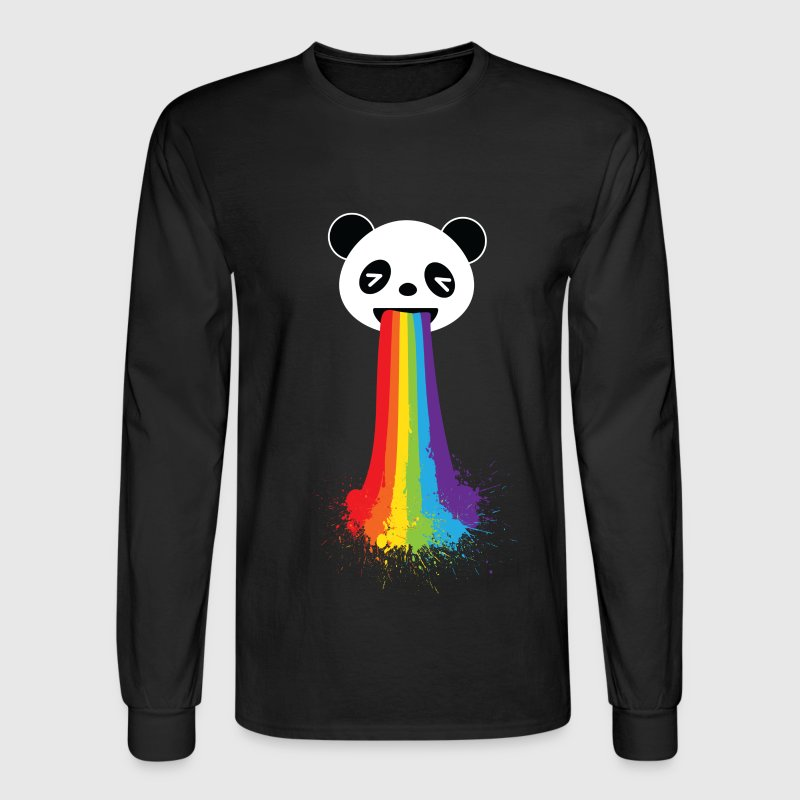 Gay Panda LGBT Pride Long Sleeve Shirts - Men's Long Sleeve T-Shirt