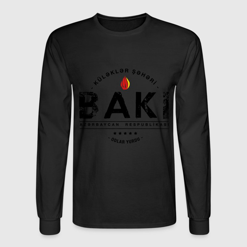 Baku Long Sleeve Shirts - Men's Long Sleeve T-Shirt