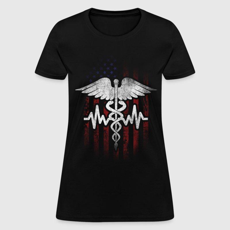 Proud American Nurse T Shirt Spreadshirt