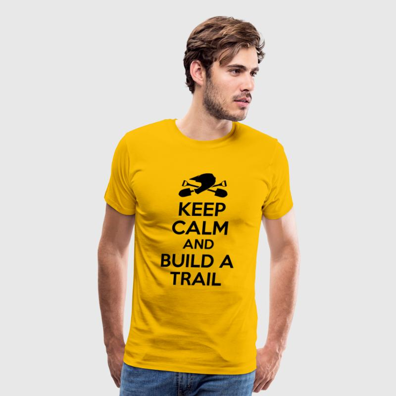 build a trail - Men's Premium T-Shirt