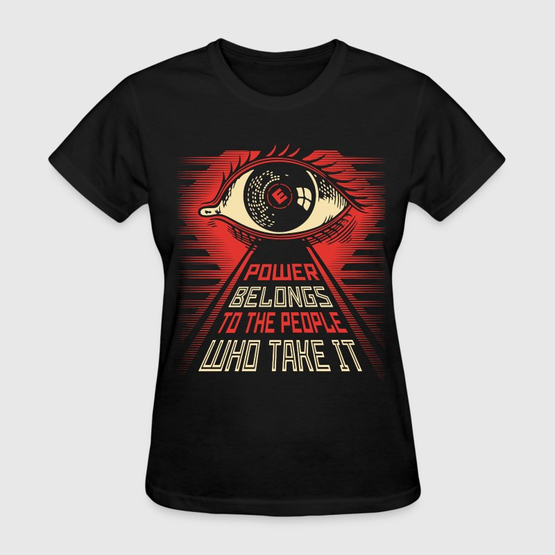 Mr Robot illuminati eye obey style Women's T-Shirts - Women's T-Shirt