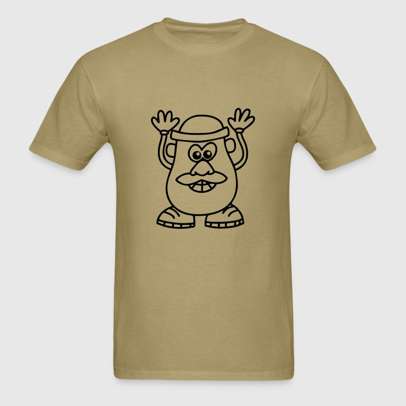 mr. potatto head - Men's T-Shirt