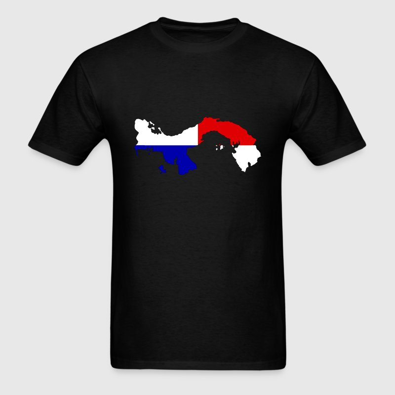 Panama Flag Map.png T-Shirts - Men's T-Shirt