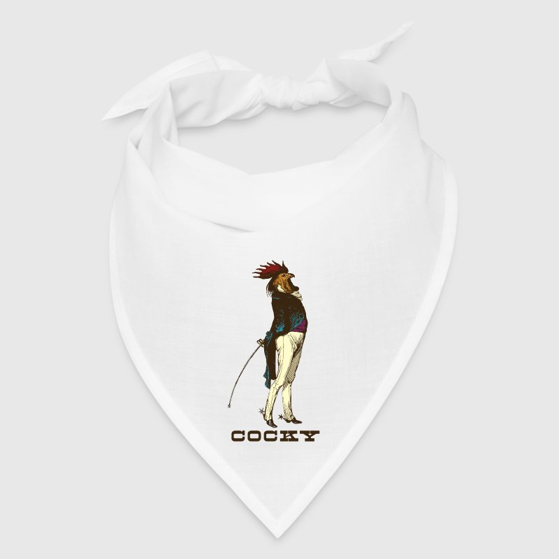 Cocky Chicken Rooster - Bandana