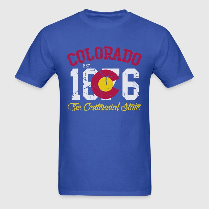 Colorado The Centennial State T-Shirts - Men's T-Shirt