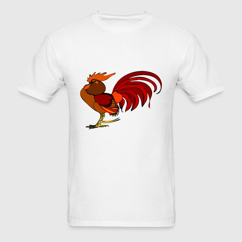 Red Rooster T-Shirts - Men's T-Shirt