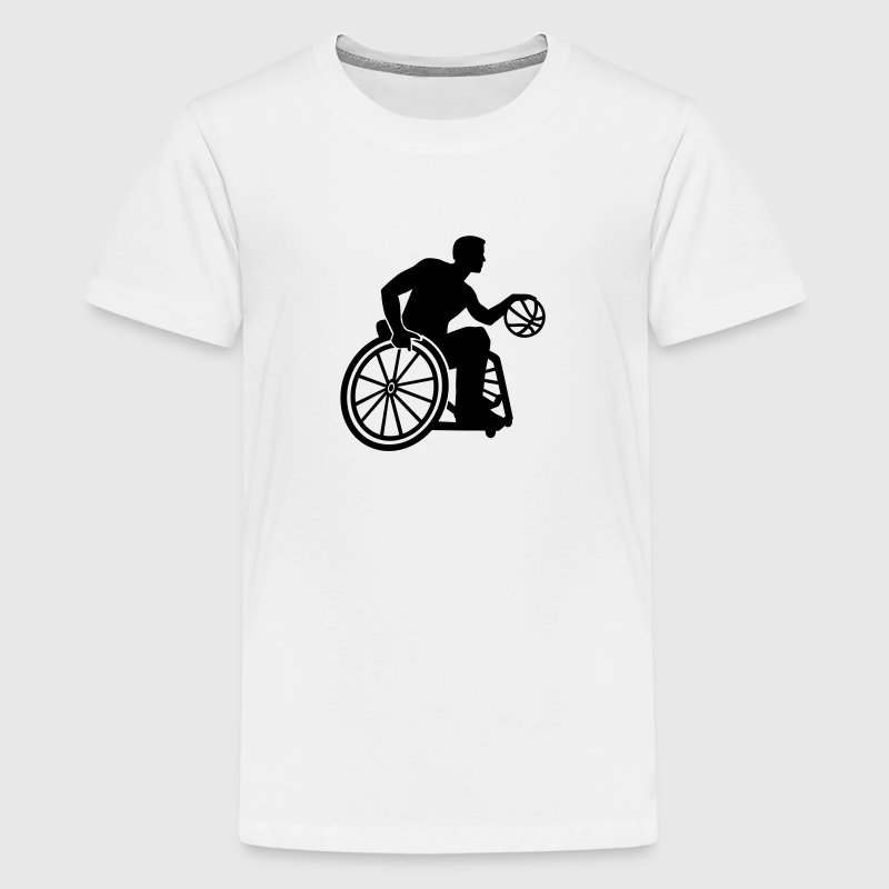 Wheelchair basketball Kids' Shirts - Kids' Premium T-Shirt