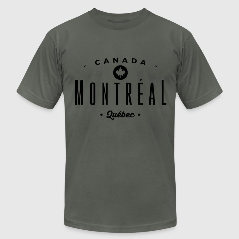Montréal T-Shirts - Men's T-Shirt by American Apparel