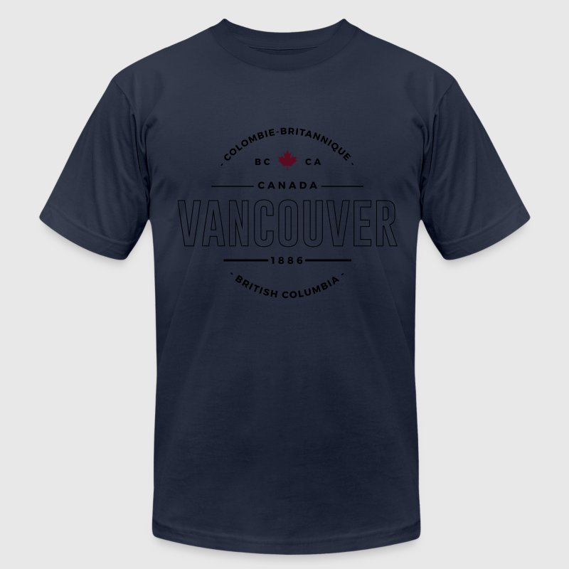 Vancouver T-Shirts - Men's T-Shirt by American Apparel