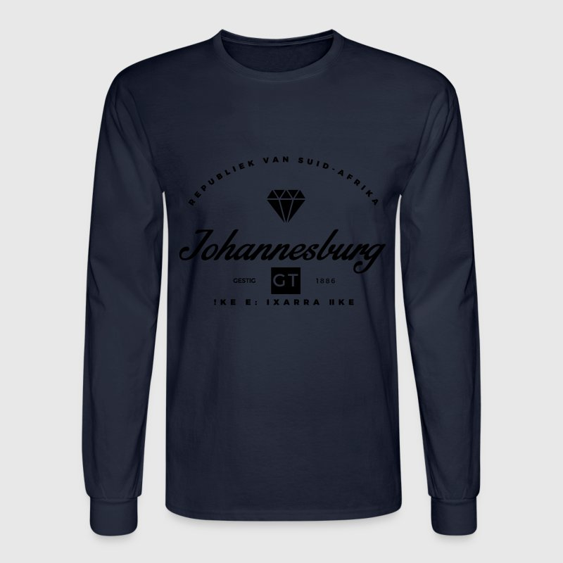 Johannesburg Long Sleeve Shirts - Men's Long Sleeve T-Shirt